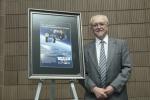 Dr. Molina es homenajeado por la Sociedad Meteorológica Americana