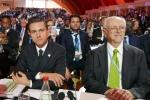 Dr. Mario Molina con Presidente Enrique Peña Nieta en COP21
