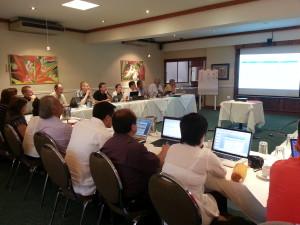 Reunión en Costa Rica, abril 2013