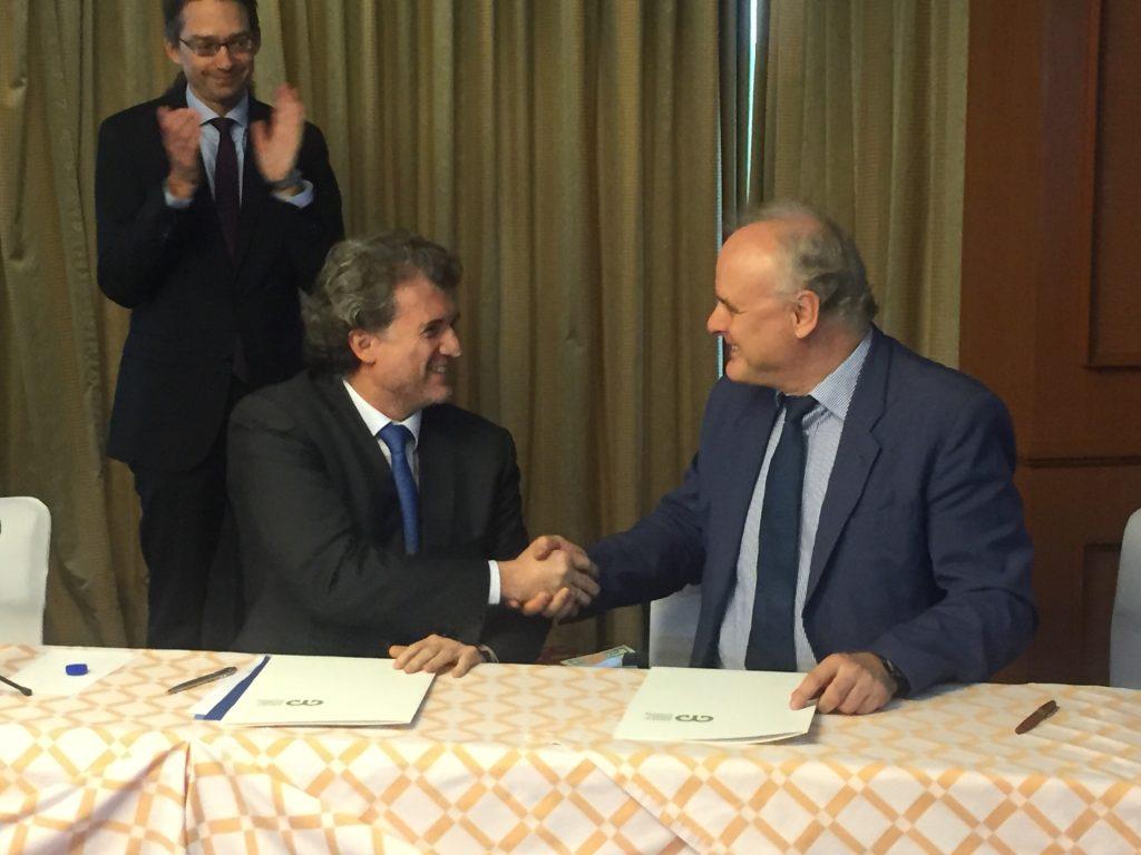 Dr. Francisco Barnés y Dr. Jürgen Kropp