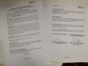 Memorandum de Entendimento CMM-PIK