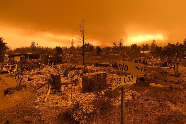 Contaminación atmosférica, incendios, calor extremo