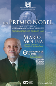 Cartel Premio Nobel